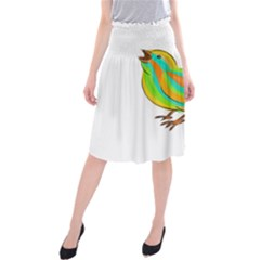 Bird Midi Beach Skirt