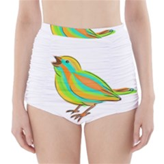 Bird High-Waisted Bikini Bottoms