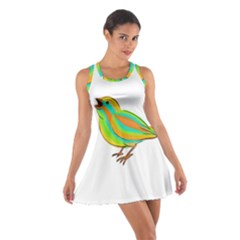 Bird Cotton Racerback Dress