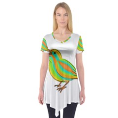 Bird Short Sleeve Tunic