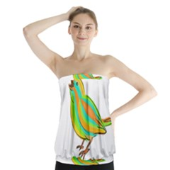 Bird Strapless Top