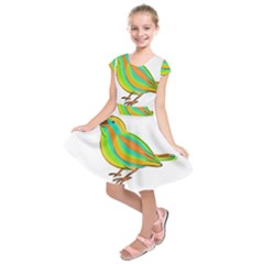 Bird Kids  Short Sleeve Dress