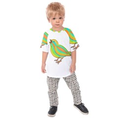 Bird Kids  Raglan Tee