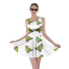 Birds Skater Dress