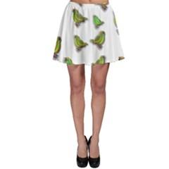 Birds Skater Skirt