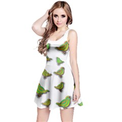 Birds Reversible Sleeveless Dress