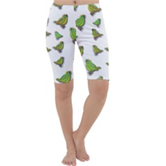 Birds Cropped Leggings