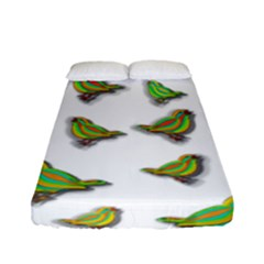 Birds Fitted Sheet (Full/ Double Size)