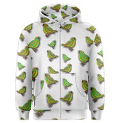 Birds Men s Zipper Hoodie
