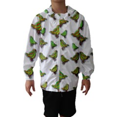 Birds Hooded Wind Breaker (Kids)