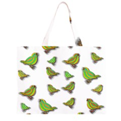 Birds Large Tote Bag