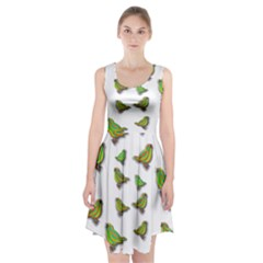Birds Racerback Midi Dress