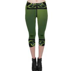 Celtic Corners Capri Leggings