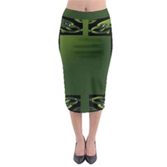 Celtic Corners Midi Pencil Skirt
