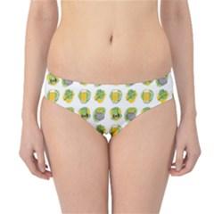 St Patrick S Day Background Symbols Hipster Bikini Bottoms