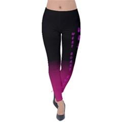 WCS - PINK PURPLE Velvet Leggings