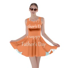 happy Father Day  Skater Dress
