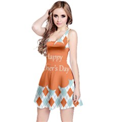 happy Father Day  Reversible Sleeveless Dress