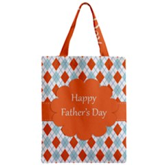 happy Father Day  Zipper Classic Tote Bag