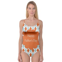 happy Father Day  Camisole Leotard