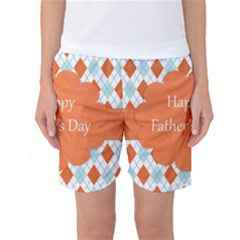 happy Father Day  Women s Basketball Shorts