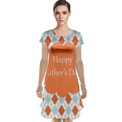 happy Father Day  Cap Sleeve Nightdress