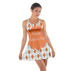 Happy Father Day  Cotton Racerback Dress