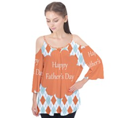 Happy Father Day  Flutter Tees