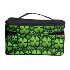 Shamrock Irish Ireland Clover Day Cosmetic Storage Case