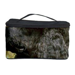 Poodle Love W Pic Black Cosmetic Storage Case
