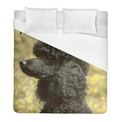 Poodle Love W Pic Black Duvet Cover (Full/ Double Size)