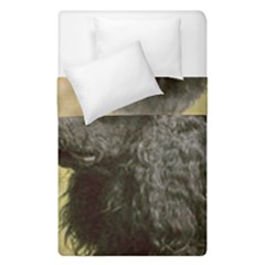 Poodle Love W Pic Black Duvet Cover Double Side (Single Size)