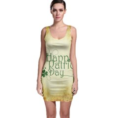 Irish St Patrick S Day Ireland Sleeveless Bodycon Dress