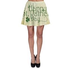 Irish St Patrick S Day Ireland Skater Skirt