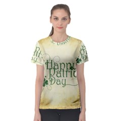 Irish St Patrick S Day Ireland Women s Sport Mesh Tee