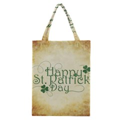 Irish St Patrick S Day Ireland Classic Tote Bag