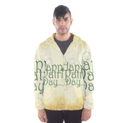 Irish St Patrick S Day Ireland Hooded Wind Breaker (Men)