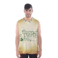 Irish St Patrick S Day Ireland Men s Basketball Tank Top