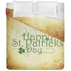 Irish St Patrick S Day Ireland Duvet Cover Double Side (california King Size)