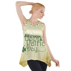 Irish St Patrick S Day Ireland Side Drop Tank Tunic
