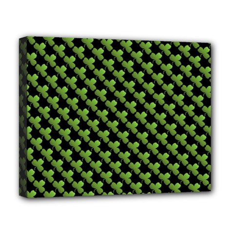 St Patrick S Day Background Deluxe Canvas 20  x 16