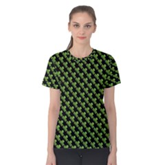 St Patrick S Day Background Women s Cotton Tee