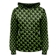 St Patrick S Day Background Women s Pullover Hoodie