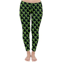 St Patrick S Day Background Classic Winter Leggings