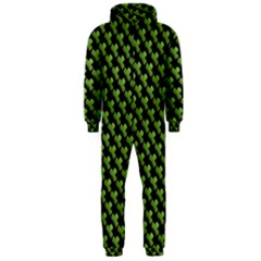 St Patrick S Day Background Hooded Jumpsuit (men)