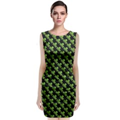 St Patrick S Day Background Classic Sleeveless Midi Dress