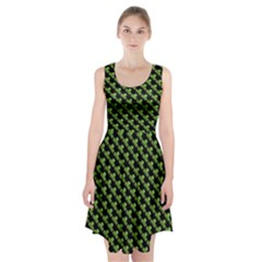 St Patrick S Day Background Racerback Midi Dress