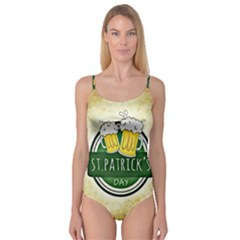 Irish St Patrick S Day Ireland Beer Camisole Leotard