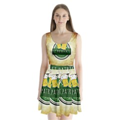 Irish St Patrick S Day Ireland Beer Split Back Mini Dress