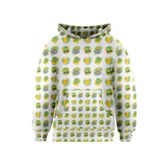 St Patrick S Day Background Symbols Kids  Pullover Hoodie
